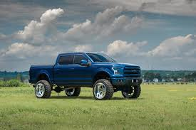 Reworked Ford F150 Truck With A Massive Lift And Chrome Fuel Off ...