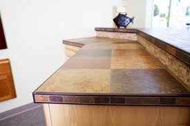 kitchen countertop countertops schluter counter tilec tile on