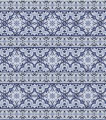 blue white portuguese tile pattern texture color
