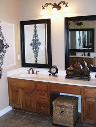 Bathroom: Excellent Black Framed Bathroom Mirror Ideas Using Old ... Mirror Ideas For Bathroom Double L Shaped Brown Finish Mahogany Rustic Framed Intended Remodel Unbelievably Lighting White Bath Oval Mirrors Best And Elegant Selections For 12 Designs Every Taste J Birdny Luxury Reflexcal Makeover Framing A Adding Storage Youtube Decorative Trim Creative Decoration Fresh 60 Unique