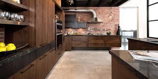 cuisine loft loft cuisine bois noyer fr ne quartz en frene newsindo co