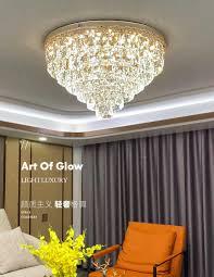 postmodernen licht luxus kristall le high end wohnzimmer decke le led einfache nordic schlafzimmer zimmer le