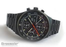 Orfina Porsche Design Black Steel Chronograph PDN 36