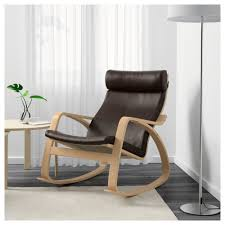 POÄNG Rocking Chair, Birch Veneer, Robust Glose Dark Brown