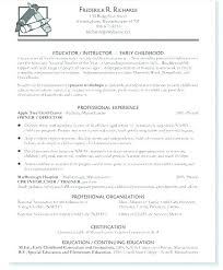 Daycare Resume Samples Plus Tagged Teacher Assistant Examples Objective