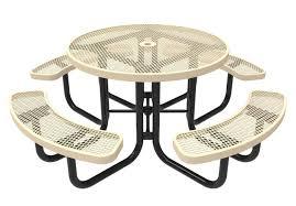 exteriors recycled plastic picnic tables cedar hexagon picnic