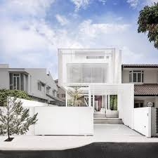 100 Dream Home Architecture A Minimalists In Singapore With A Privacy Wrapped White