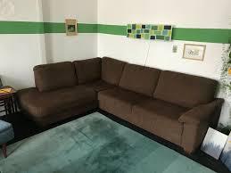großes schönes sofa braun möbel höffner ecksofa