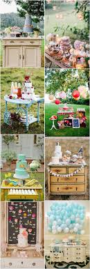 Rustic Wedding Cake Dispaly Dessert Table Decor Ideas