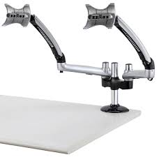 Desk Mount Monitor Arm Dual by Monitor Desk Mount For Apple W Spring Arm Dm Gs2a