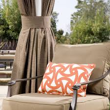 sunbrella outdoor curtains with grommets curtains home design with