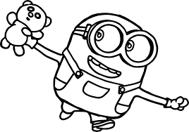 Minion Coloring Pages To Print Free Girl Minions Sheets Pdf Games