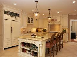 Cream Colored Countertops Kitchen Grey Floor White Wall Cabinets Surplus