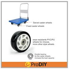 Features 150kg Foldable Pvc Platform Hand Truck 4 Wheel Trolley Dan ... Shop Aleko Push Hand Truck Folding Platform Cart 4 Wheel Dolly Gemini Sr Convertible 10 Microcellular Foam Wheels Harper Trucks 700 Lb Capacity Supersteel Airgas Remarkable Bronze With Dollies At Jr Alinum 2 In 1 To Maxiton Iron Tube Hand Truck Isl300 With 4pu Wheel Magliner Hrk55aua42 Selfstabilizing Vertical Loop Rubbermaid Commercial Products 500 Triple Trolley 4wheel Appliance 1200 Lbs 14890 King 70 Kg155 Heavy Duty Solid