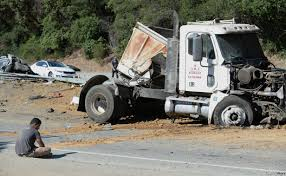 One Person Dead, Seven Hurt After Big Rig Crashes Into 10 Vehicles ...