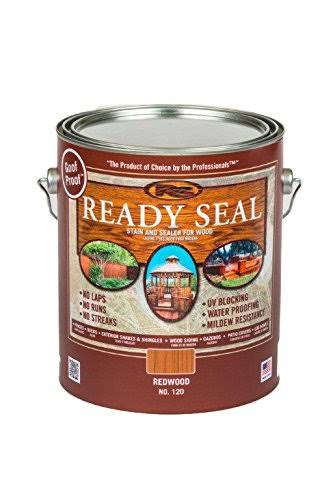 Ready Seal Redwood Semi-transparent Exterior Stain - 128oz