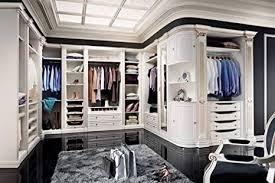 casa padrino luxus barock kleiderschrank weiß gold offener
