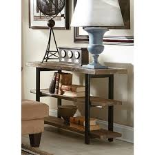 The Gray Barn Michaelis Rustic Wood And Metal Console