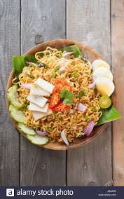 maggi cuisine malaysian style maggi goreng mamak or spicy dried curry instant