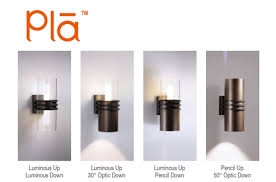 visa lighting s pla led outdoor sconces spectrum lighting