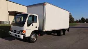 100 Cube Trucks For Sale 2005 Isuzu NQR 19 Box Truck Power Lift GateLow Miles