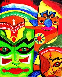 The Kathakali Artist Indian Dance By SVKexhibits