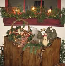 Primitive Christmas Decorating Ideas Lovely 87 Best Images On Pinterest Of