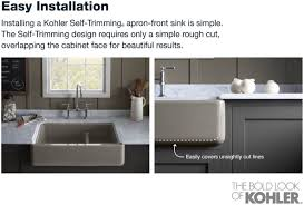 Kohler Whitehaven Sink Scratches by Faucet Com K 6489 0 In White By Kohler