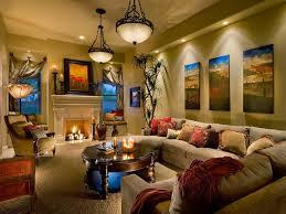 interior classical pendnat lighting living room wooden