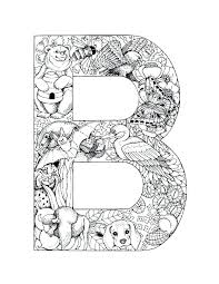 Full Image For Letterbpictureprintable Alphabet Coloring Pages B Lowercase Letter M Page Capital J