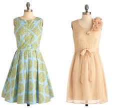 Vintage Bridesmaid Dresses For Weddings