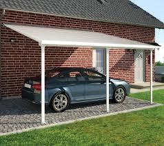 Garage Canopy Awning Carports 2 Car Carport With Storage Aluminum