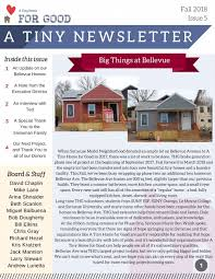 100 Tiny House Newsletter A Home For Good