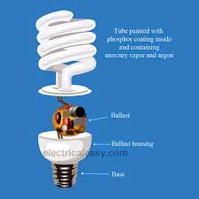 how fluorescent light bulbs work how does a cfl bulb work one how