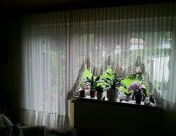 blumenfenster gardine landhaus store 2 teilig mit