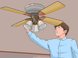 My Bathroom Ceiling Fan Stopped Working by How To Fix A Squeaking Ceiling Fan 8 Steps With Pictures