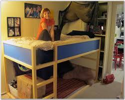 Wooden Loft Bed Design by Bedroom Design White Wooden Loft Bed Ladder Desk Complete Along