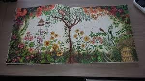Secret Garden An Inky Treasure Hunt And Coloring Book Johanna Basford 9781780671062 Amazon Books Love The By Yuanjie Zhang On Jul 1