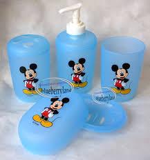 badezimmer disney mickey mouse bathroom soap dish möbel wohnen