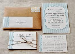 Rustic Blue White Wedding Invitations