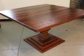 Hand Made 72 Square Dining Table By ECustomFinishes