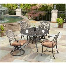 furniture patio dining sets home depot ty pennington quincy 5
