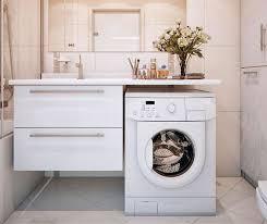wie die waschmaschine in das badezimmer stellt neu