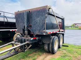 100 Palmer Trucking 2003 12x96x50 End Dump Pup Trailer Tarp For Sale Granbury