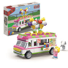 100 Toy Ice Cream Truck BanBao Peanuts Filo Import Inc SRUs