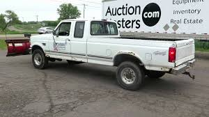 Lot 23 - 1996 Ford F250 Truck, 2 Door Extended Cab, 7.3 L Diesel ...