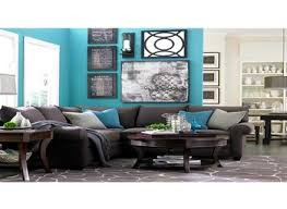 Grey Brown And Turquoise Living Room by Interior Turquoise And Grey Living Room Throughout Superior