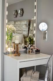 Diy Vanity Desk With Lights by Diy Vanity U2014 House Of Five