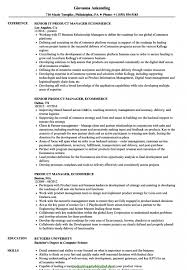Sample Resume For Product Manager Valid Myacereporter