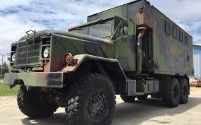 100 5 Ton Military Truck M934a2 6x6 Expansible Van Rebuilt Hard Top Off